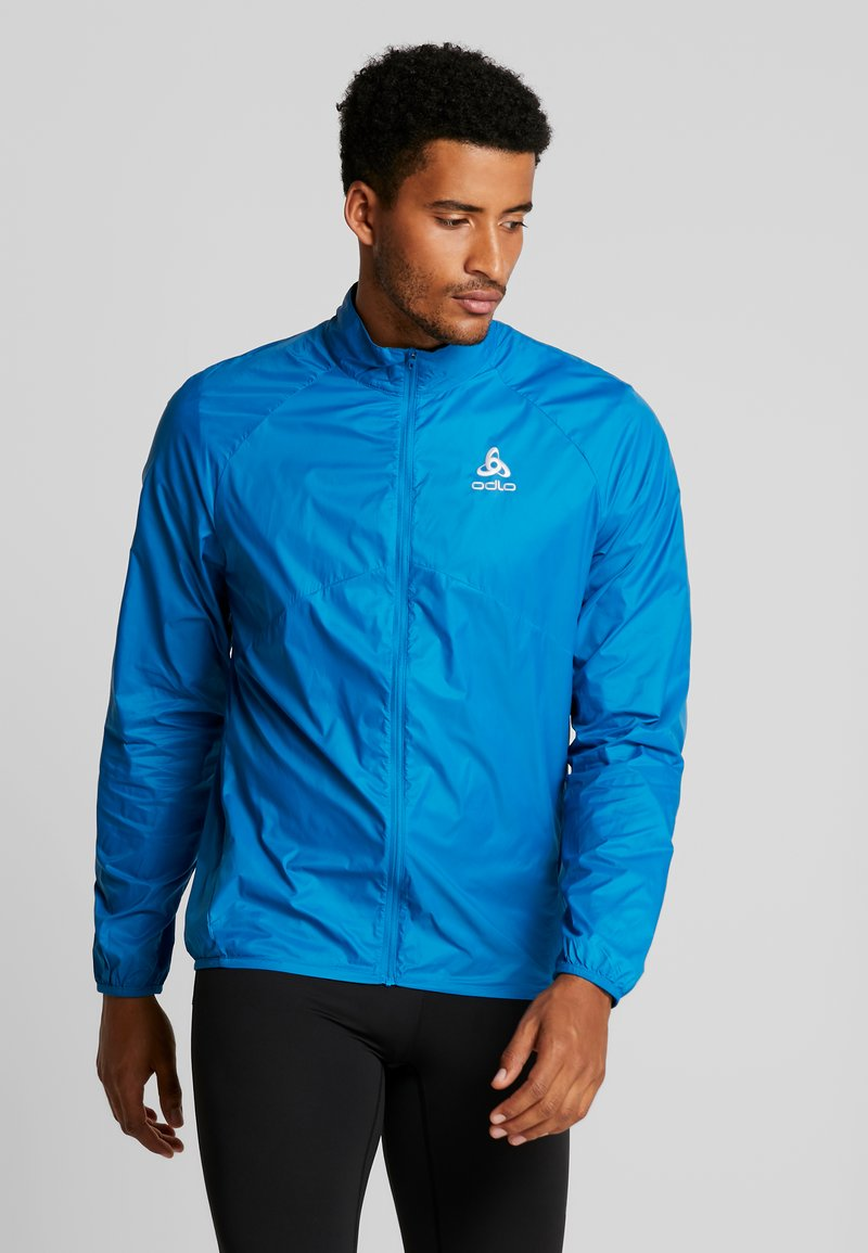 ODLO - JACKET ZEROWEIGHT - Běžecká bunda - mykonos blue