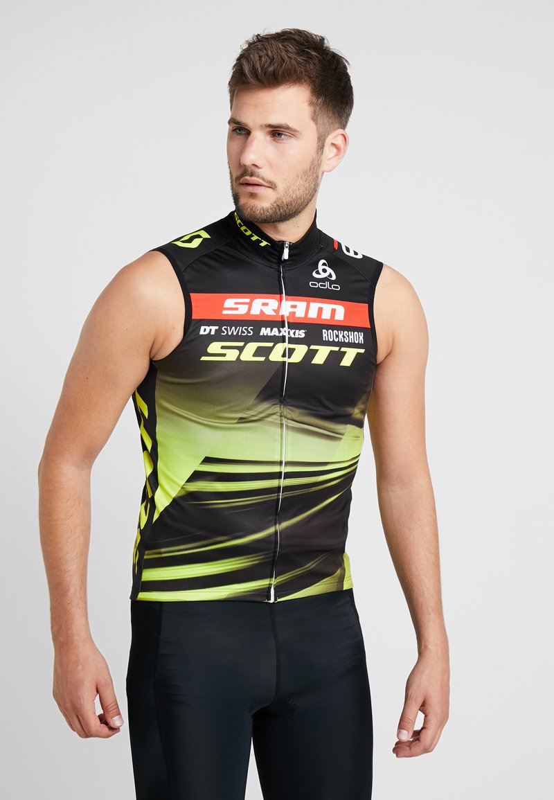 ODLO - SCOTT SRAM RACING - Funktionsshirt - black