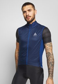 ODLO - VEST ZEROWEIGHT DUAL DRY - Weste - estate blue - 0