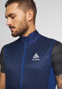 ODLO - VEST ZEROWEIGHT DUAL DRY - Weste - estate blue - 3