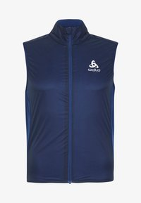 ODLO - VEST ZEROWEIGHT DUAL DRY - Weste - estate blue - 4