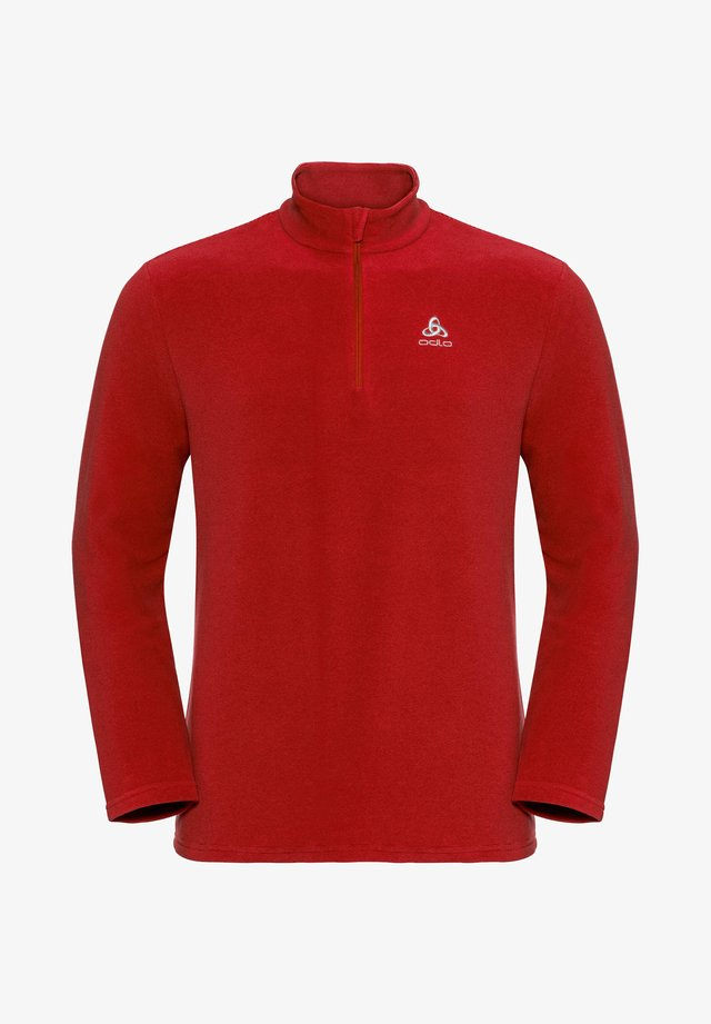 ROY MIDLAYER - Fleece jumper - red