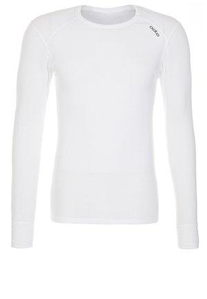 CREW NECK - Bluzka z długim rękawem - white