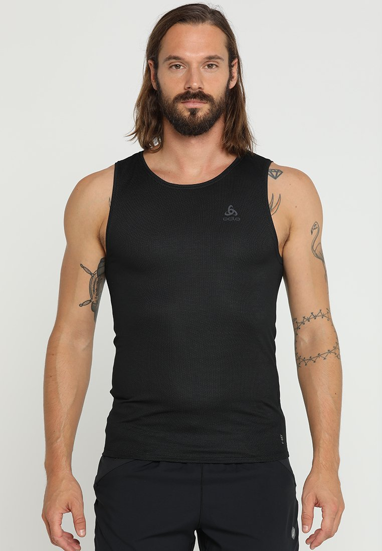 ODLO - CREW NECK SINGLET ACTIVE LIGHT - Maglietta intima - schwarz