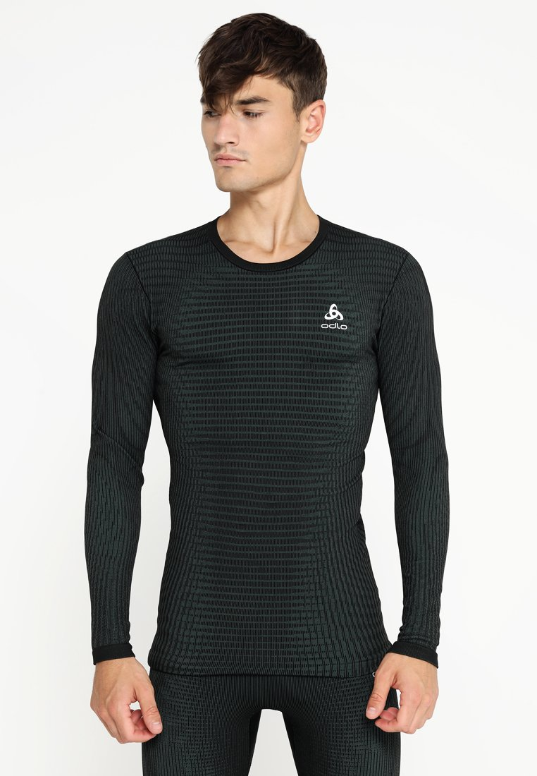 ODLO - SUW CREW NECK FUTURESKIN - Tílko - stormy weather/black