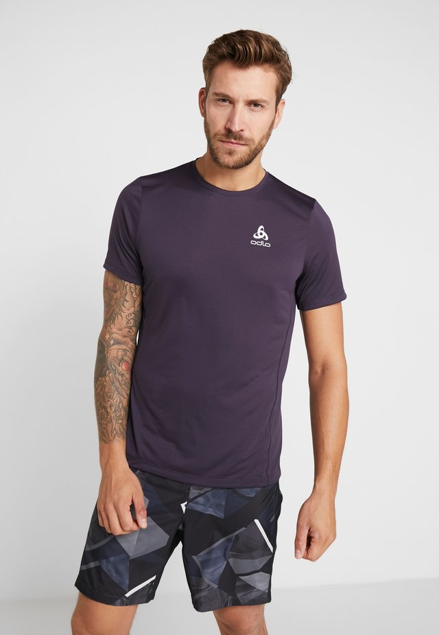 CREW NECK ELEMENT LIGHT - T-Shirt basic - nightshade
