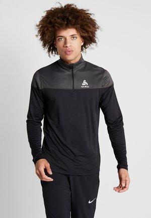 MIDLAYER 1/2 ZIP CERAMIWARM ELEMENT - T-shirt sportiva - black