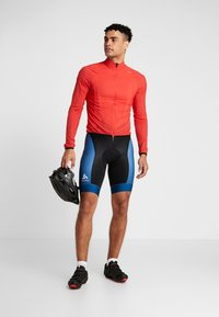 ODLO - MEN PERFRORMANCE SHORTS - Tights - poseidon/black - 1