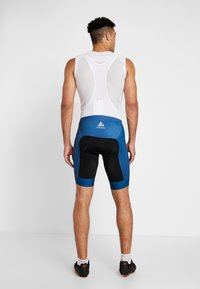 ODLO - MEN PERFRORMANCE SHORTS - Tights - poseidon/black - 2