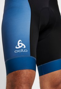 ODLO - MEN PERFRORMANCE SHORTS - Tights - poseidon/black - 6