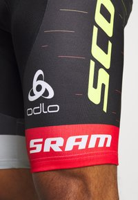 ODLO - SHORT SUSPENDERS SCOTT SRAM RACIN - Tights - black - 5