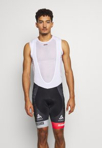 ODLO - SHORT SUSPENDERS SCOTT SRAM RACIN - Tights - black - 0