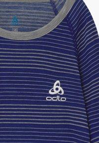 ODLO - ACTIVE WARM KIDS SET - Tílko - vivid blue/grey melange - 4