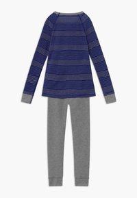 ODLO - ACTIVE WARM KIDS SET - Tílko - vivid blue/grey melange - 1