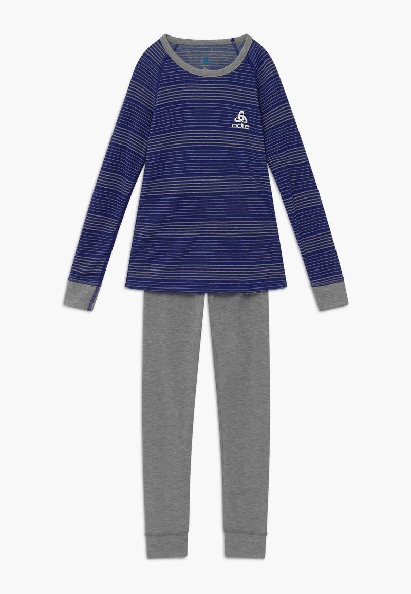 ODLO - ACTIVE WARM KIDS SET - Tílko - vivid blue/grey melange