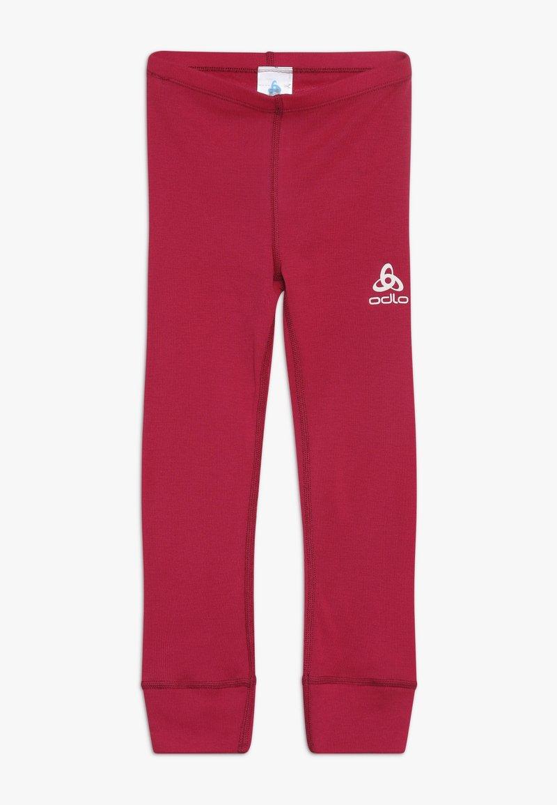 ODLO - PANTS LONG WARM KIDS - Unterhose lang - cerise