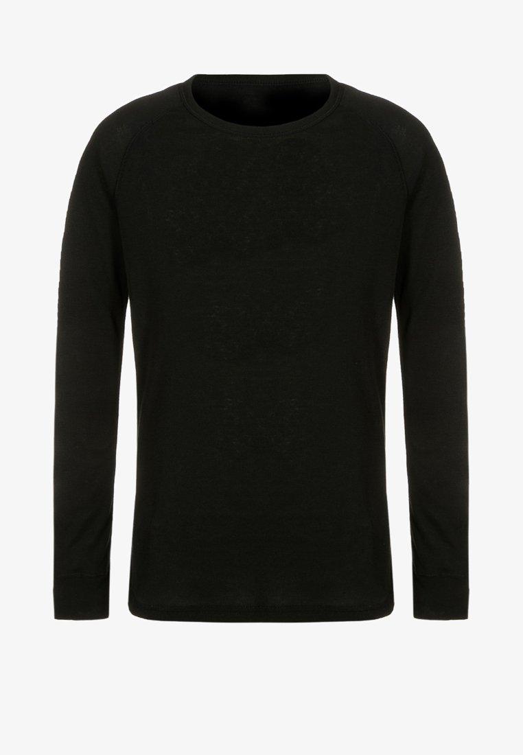ODLO - CREW NECK WARM KIDS - Undershirt - black