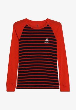 CREW NECK WARM KIDS - Unterhemd/-shirt - poinciana/diving navy