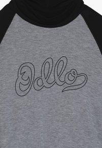 ODLO - WITH FACEMASK WARM - Long sleeved top - black/grey melange - 3