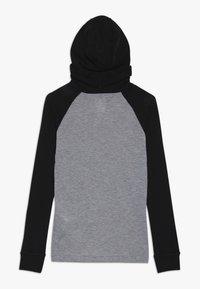 ODLO - WITH FACEMASK WARM - Long sleeved top - black/grey melange - 1