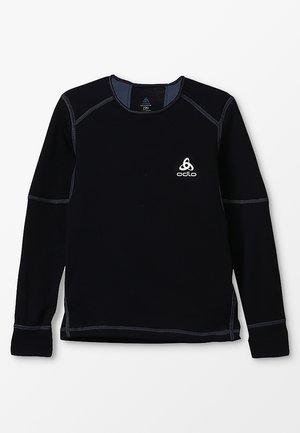 CREW NECK X-WARM               - Unterhemd/-shirt - black