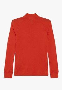 ODLO - TURTLE NECK 1/2 ZIP WARM       - Long sleeved top - poinciana - 1