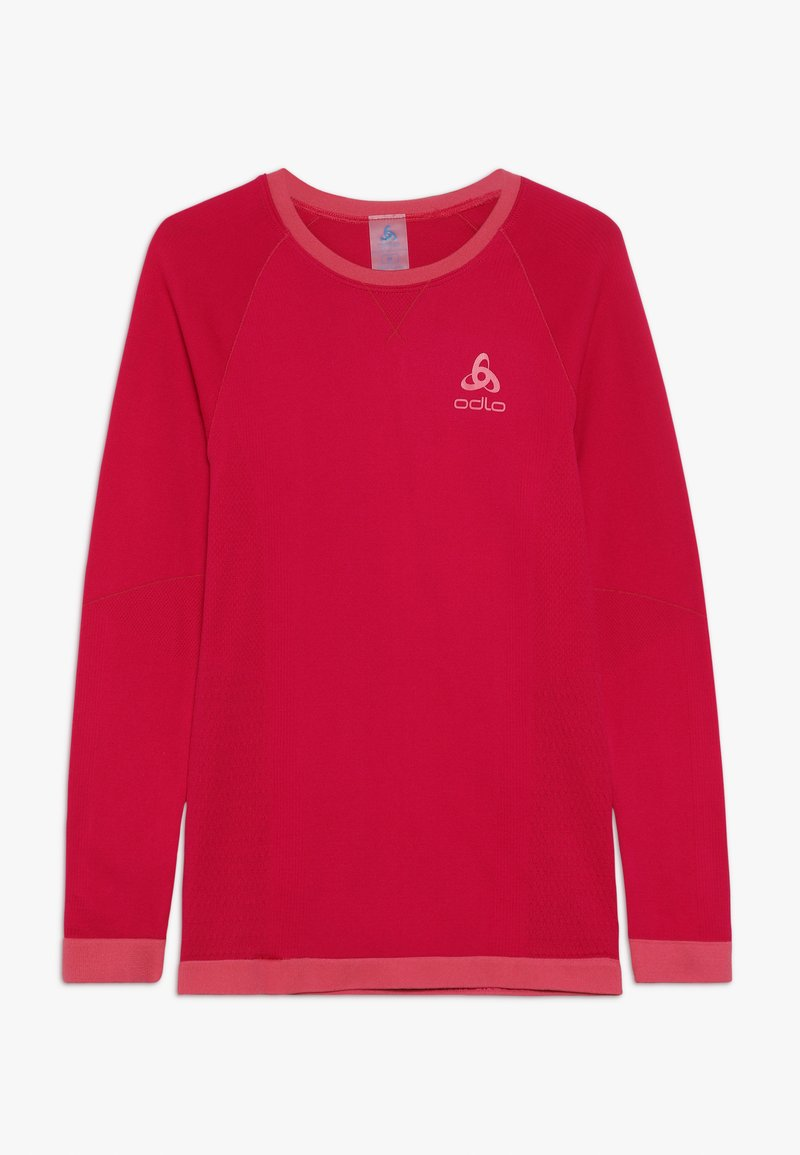 ODLO - CREW NECK PERFORMANCE WARM KIDS  - Undershirt - cerise/fruit dove