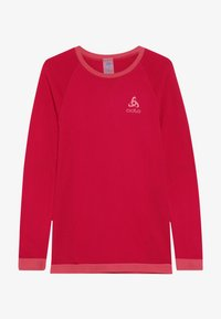 ODLO - CREW NECK PERFORMANCE WARM KIDS  - Undershirt - cerise/fruit dove - 3