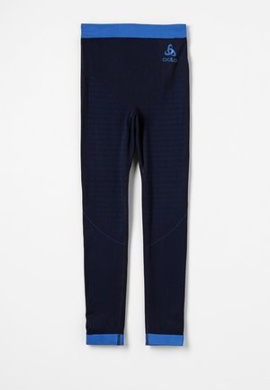 BOTTOM PANT PERFORMANCE WARM KIDS - Dlouhé spodní prádlo - diving navy/energy blue