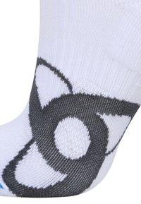 ODLO - SOCKS SHORT RUNNING LOW CUT              - Sportovní ponožky - white - 1