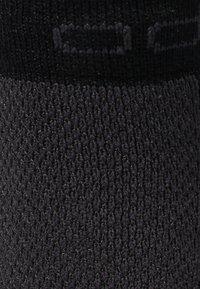 ODLO - SOCKS SHORT RUNNING LOW CUT              - Sportovní ponožky - black/grey melange - 1