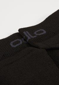 ODLO - LOW ACTIVE 2 PACK - Sportovní ponožky - black - 2