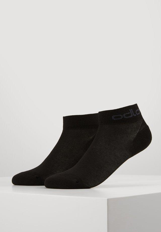 LOW ACTIVE 2 PACK - Sports socks - black