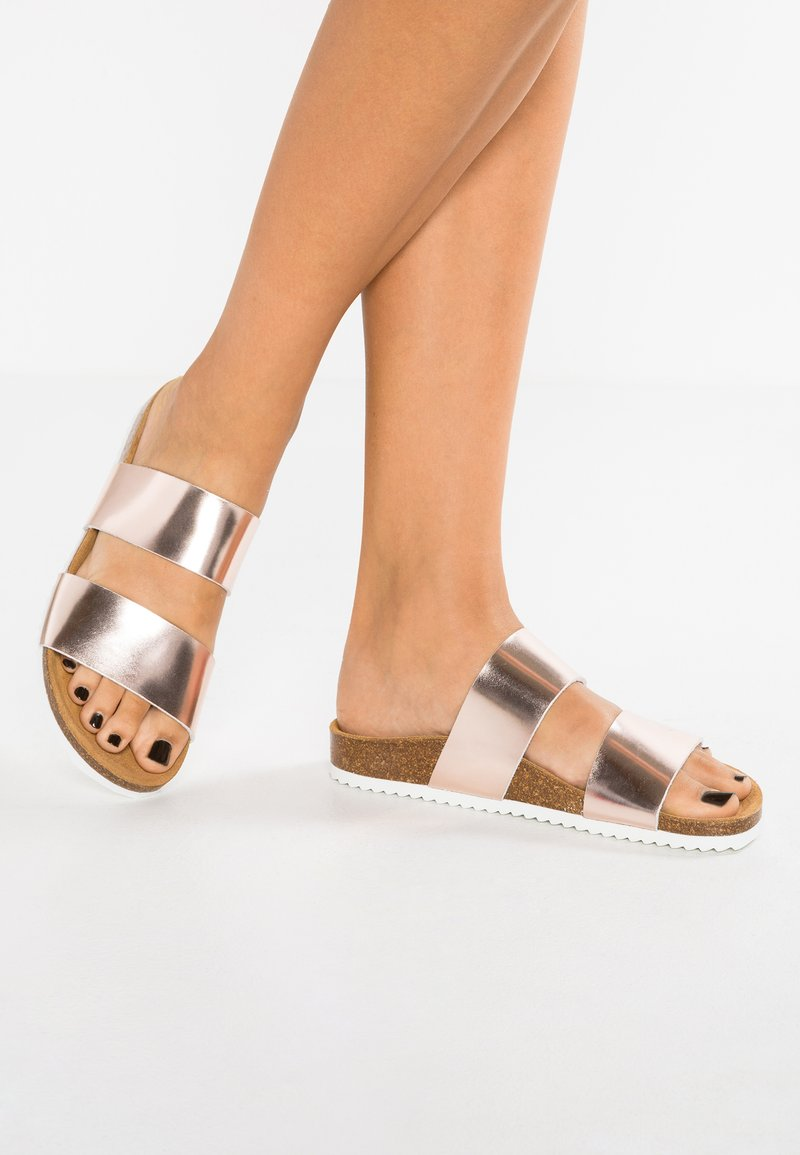 Office - OSLO - Slippers - rose gold mirror