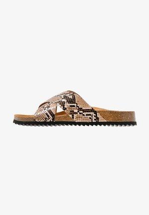 HOXTON  - Domácí obuv - natural