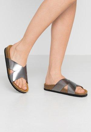 HOXTON  - Slippers - dark pewter matter