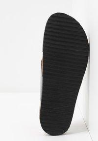 Office - HOXTON  - Slippers - dark pewter matter - 6