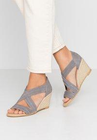 Office - MAIDEN - Wedge sandals - grey - 0