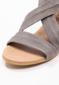 Office - MAIDEN - Wedge sandals - grey - 2