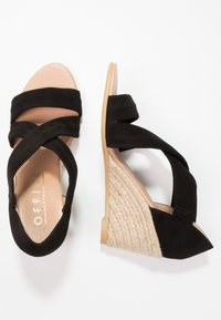 Office - MAIDEN - Wedge sandals - black - 3