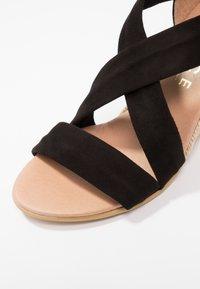 Office - MAIDEN - Wedge sandals - black - 2