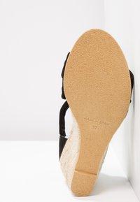 Office - MAIDEN - Wedge sandals - black - 6