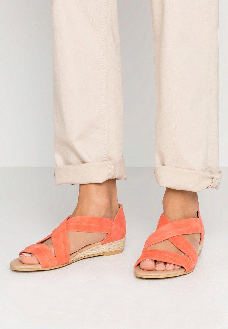 Office - HALLIE - Wedge sandals - peach