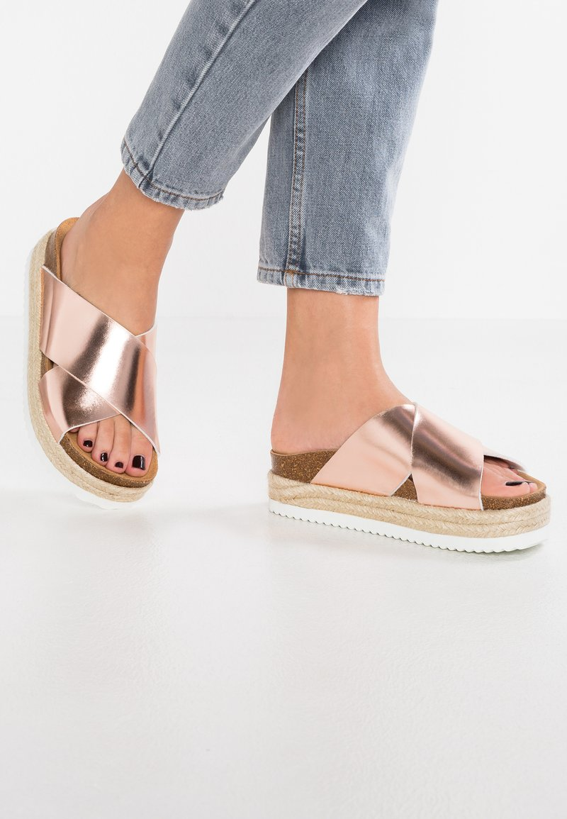 Office - MEXICO - Mules - rose gold