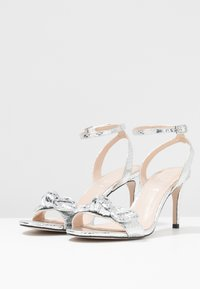 Office - MALLORY - High heeled sandals - silver - 4