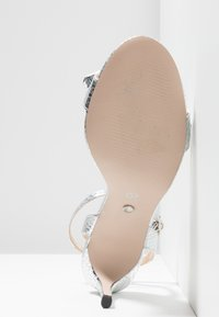 Office - MALLORY - High heeled sandals - silver - 6