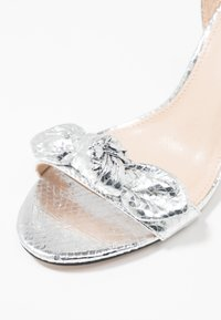 Office - MALLORY - High heeled sandals - silver - 2