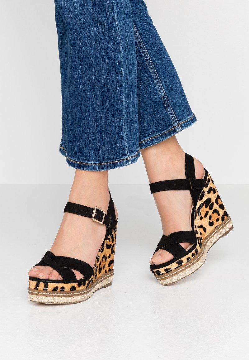 Office - HALCYON - High heeled sandals - black