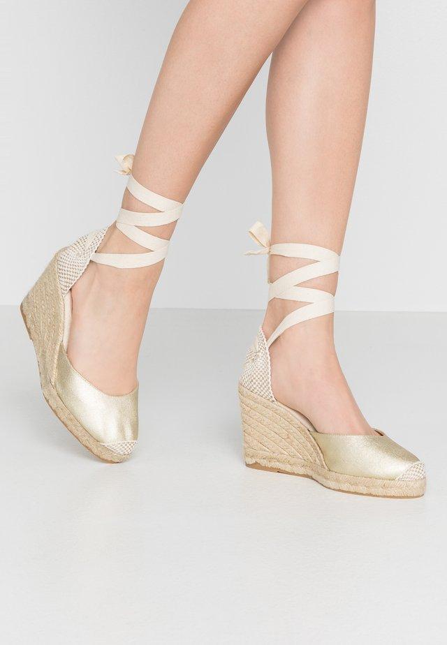 MARMALADE - High Heel Sandalette - gold