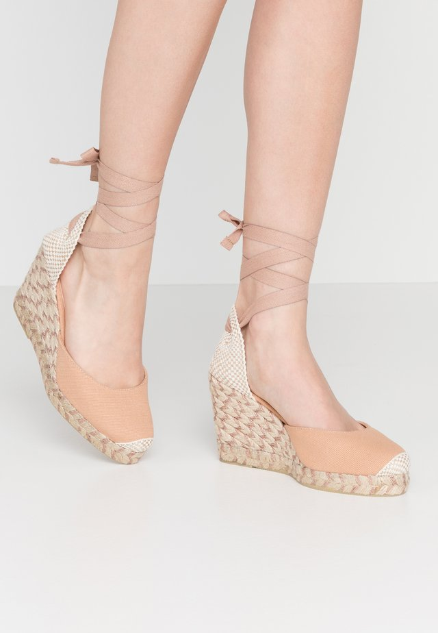 MARMALADE - High heeled sandals - nude/rose gold